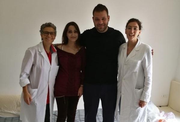Migrant screening inItaly