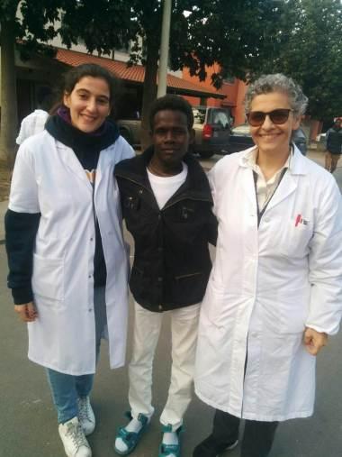 TB patient in Sicily